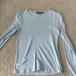 Grey Ralph Lauren Grey Shirt